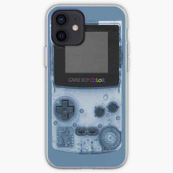 Gameboy Blue iPhone Soft Case
