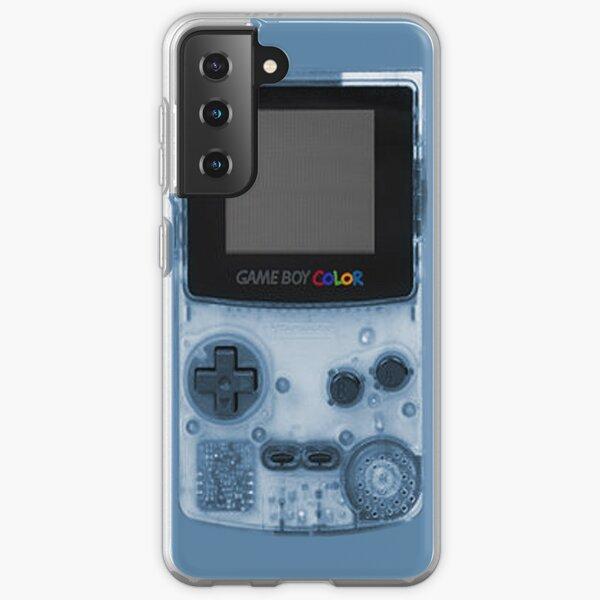 Gameboy Blue Samsung Galaxy Soft Case