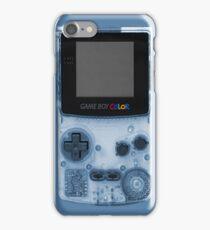 Gameboy Blue iPhone Case/Skin