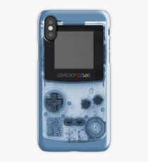 Gameboy Blue iPhone Case/Skin