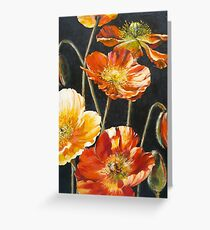 Poppies Too Greeting Card