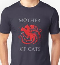 MOTHER OF CATS-GAME OF THRONES Unisex T-Shirt