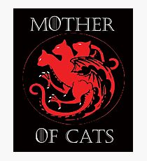 MOTHER OF CATS-GAME OF THRONES Photographic Print