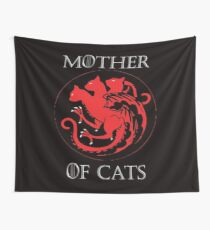 MOTHER OF CATS-GAME OF THRONES Wall Tapestry