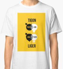 Tigon, liger Classic T-Shirt