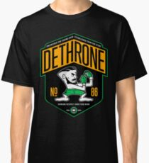 Conor Mcgregor Dethrone Classic T-Shirt
