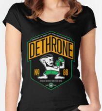Conor Mcgregor Dethrone Women's Fitted Scoop T-Shirt