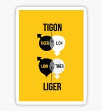 Tigon, liger Sticker