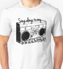 Sing A Long to My Stereo T-Shirt