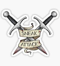 D&D - Rogue - Sneak Attack Sticker