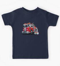 Cartoon firetruck Kids Clothes