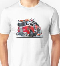Cartoon firetruck T-Shirt