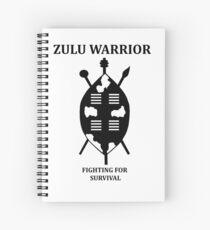 Zulu Warrior Spiral Notebook