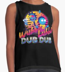 Rick and Morty Neon Contrast Tank