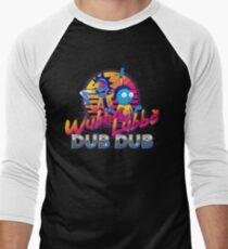 Camiseta ¾ bicolor para hombre Rick y Morty Neon