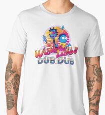 Rick and Morty Neon Men's Premium T-Shirt