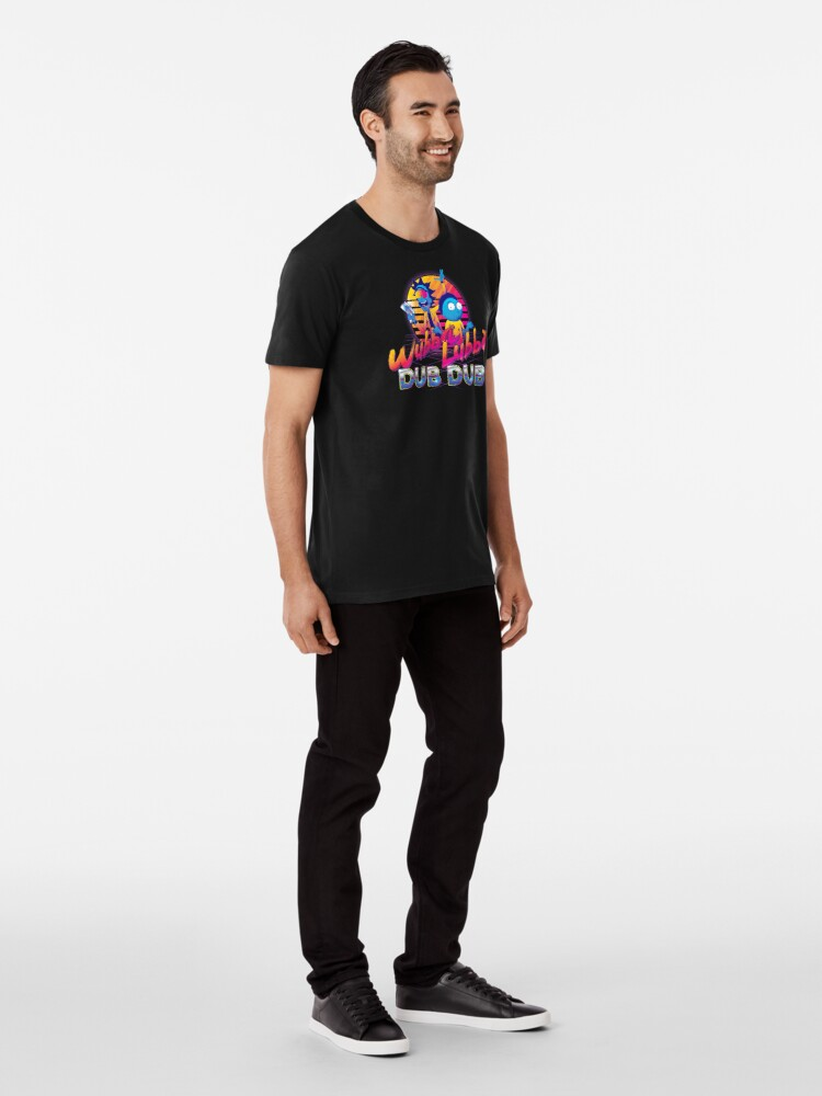 Alternate view of Rick and Morty Neon Premium T-Shirt