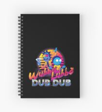 Rick and Morty Neon Spiral Notebook