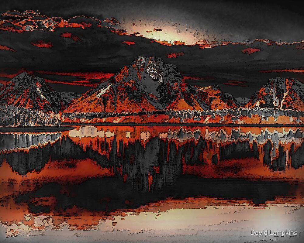 Mountain Fire by David Lampkins
