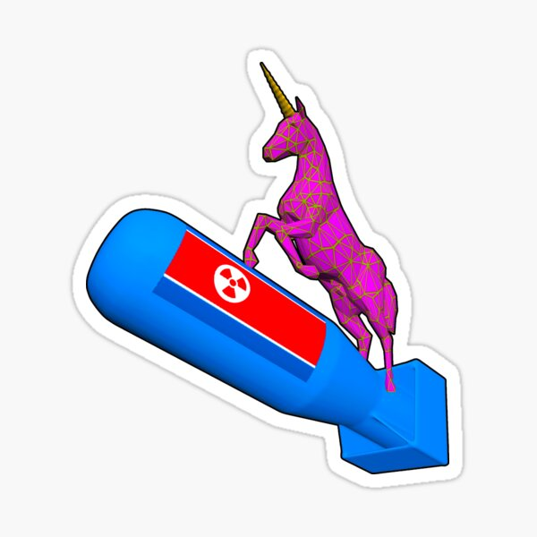 Nuclear Unicorn  Sticker