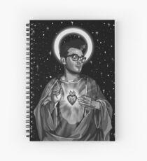 Morrissey jesus Spiral Notebook