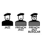 French Jazz Burglar by Stephen Wildish