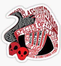 Specter Knight Sticker