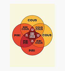 Piri Piri Cous Cous Photographic Print