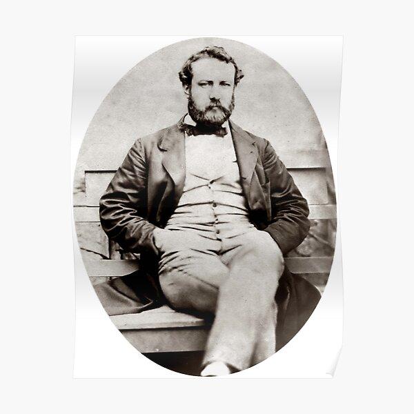Photographie de portrait Vintage Jules Verne Poster