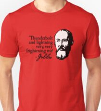 Galileo - Thunderbolt and lightning very very frightening me Unisex T-Shirt
