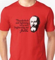 Galileo - Thunderbolt and lightning very very frightening me Unisex T-Shirt