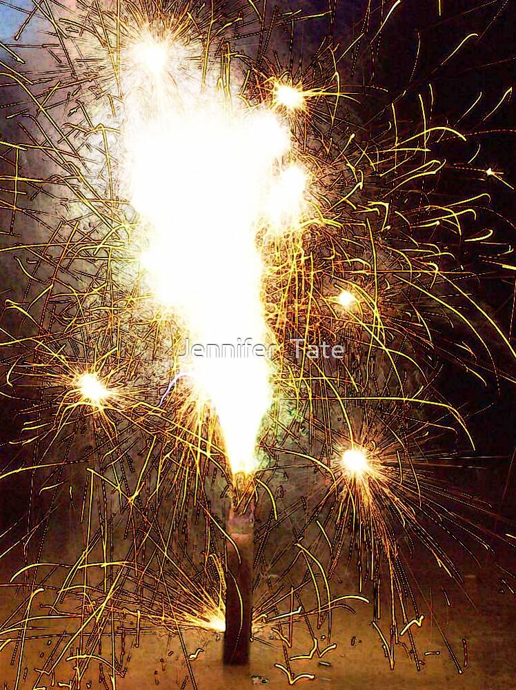 Fireworks by Jennifer  Tate