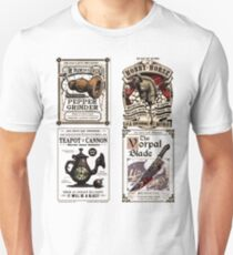 Weapons Cards- Alice Madness Returns T-Shirt