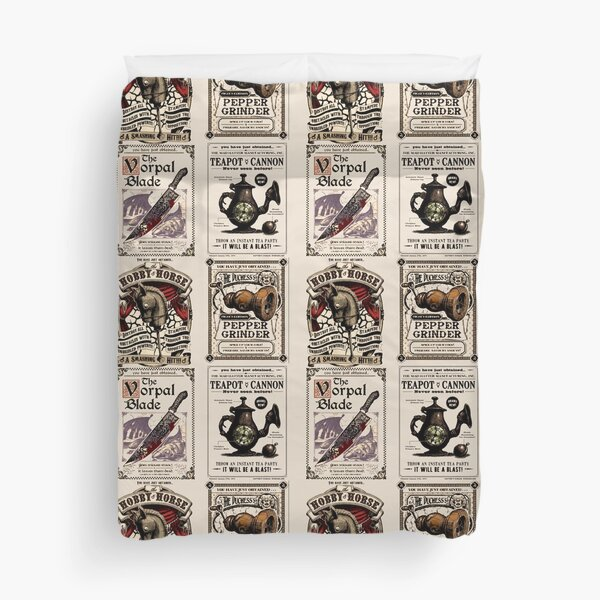 Weapons Cards- Alice Madness Returns Duvet Cover