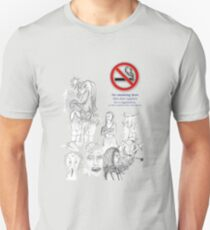 No smoking my eyes out T-Shirt
