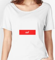 oof Women's Relaxed Fit T-Shirt
