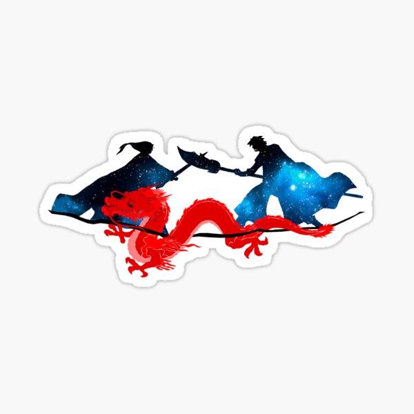 hak vs soo won Sticker