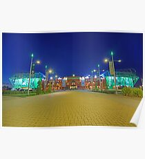 Celtic Park by Night Poster