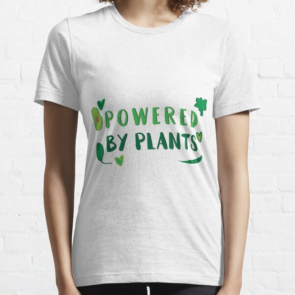 Powered by plants Essential T-Shirt