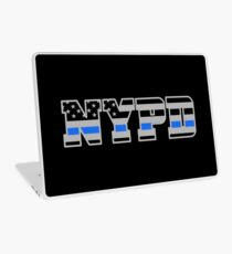 NYPD Thin Blue Line - American Police Flag Laptop Skin