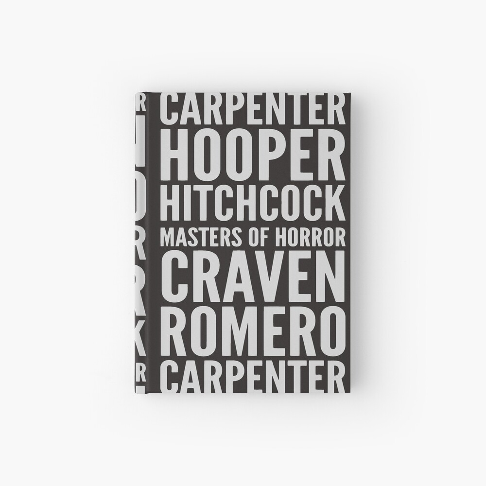 Masters Of Horror  Hardcover Journal