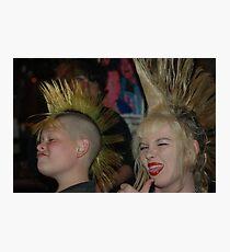 Kid Punx Photographic Print