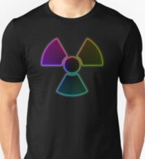 New Rainbow Nuclear Symbol T-Shirt