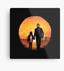 Logan & Laura Metal Print