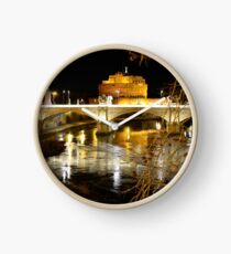 Rome by night Clock