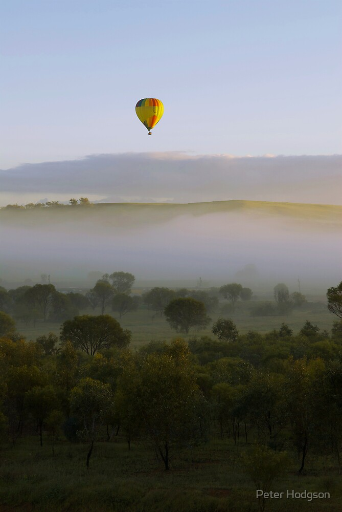 Ballooning above Fog by Peter Hodgson