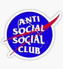 NASA Anti Social Social Club Sticker