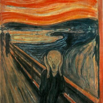 The Scream by Edvard Munch by dzdn