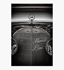 Mercedes Benz Classic Photographic Print