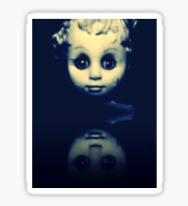 CanDie Haunted doll art Sticker